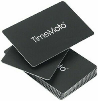 NEW BOXED Safescan TimeMoto RFID Cards RF-100 for Time Attendance Systems 25PCS