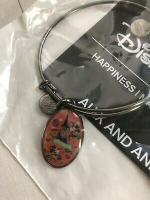 Disney Alex And Ani Bangle Bracelet Mickey's Not So Scary Halloween 2018 NEW