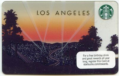 FIRST 2011 Los Angeles L.A. REGIONAL CITY LIGHTS  GIFT CARD UNSWIPED