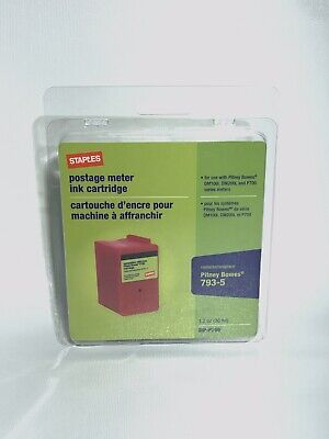 Staples SIP-P700 Postage Meter Ink Cartridge For Pitney Bowes