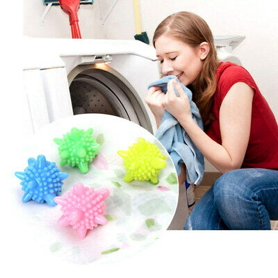 5pc Reusable Dryer Balls Laundry Washing Ball Clothes Cleaning Fabric Softener