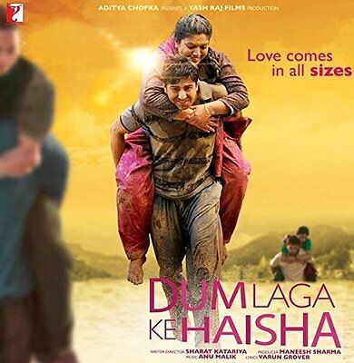 Dum Laga Ke Haisha Bluray - 2015 Bollywood Movie ALL/0 Special 2 Disc Edition