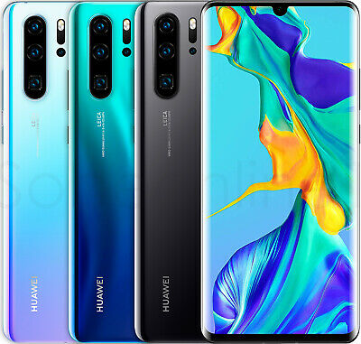 "Huawei P30 Pro 128GB VOG-L29 Dual Sim (FACTORY UNLOCKED) 6.47"" 8GB RAM 40MP"