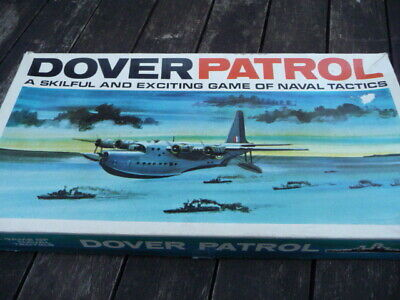Dover Patrol : A Game of Naval Tactics - Board Game by H P GIBSON & SONS LTD.