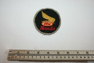 Vintage Honda Hm Racing Motor Automotive Uniform Sew On Patch