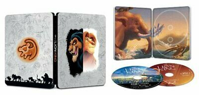 Disney's The Lion King 4K Steelbook Limited Edition (4KUHD + Blu-ray + HD copy)
