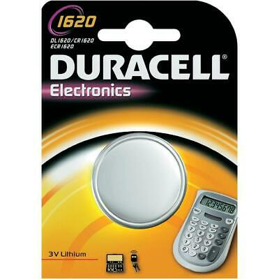Duracell Electronics Button Battery Cr1620 3v Lithium Battery Cell Batteries