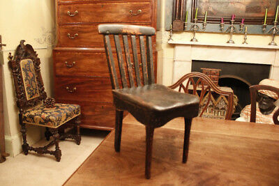19th Century Scottish Vernacular Child's Chair Naive Country Furniture Folk Art