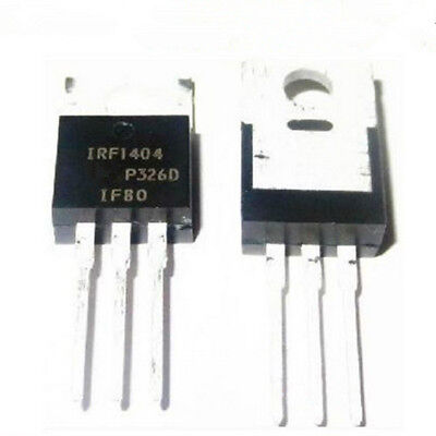 IRF1404 transistor N-MOSFET 40v 75a 200w to220ab - lot de 1