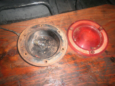 International Scout 800  tail light and base and lens