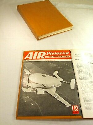 Air Pictorial Magazines. 1957. Complete Year. Bound In A Hand Made Binder