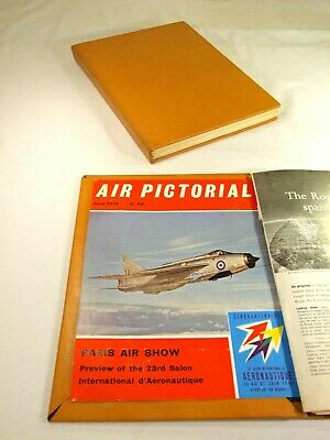 Air Pictorial Magazines. ~ 1959 ~ . Complete Year. Bound In A Hand Made Binder