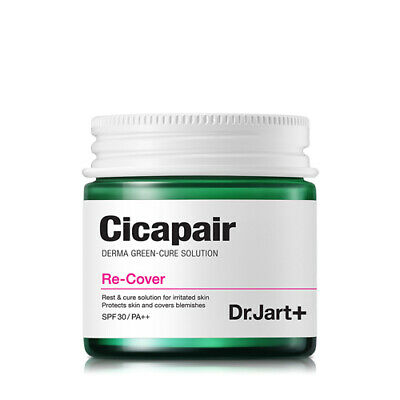 [Dr.Jart+] Cicapair Re-Cover 50ml (Tiger Grass Color Correcting Treatment)
