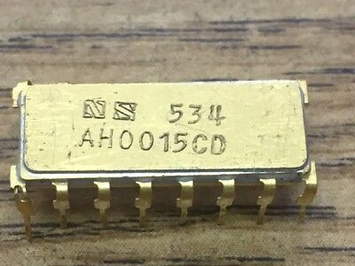 National Semiconductor AH0015CD VERY RARE Chip EARLY