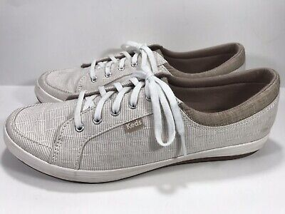 BRAND NEW KEDS Womens 9 Walnut Vollie II Speckled Knit Ortholite Sneakers