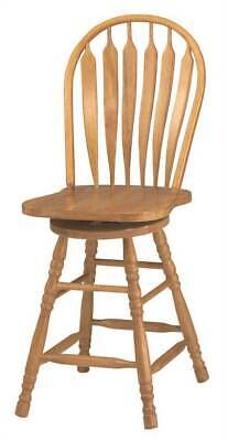 Swivel Barstool in Light Oak Finish [ID 2277957]
