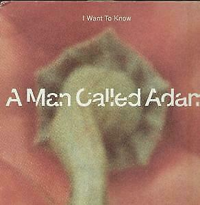 """A MAN CALLED ADAM I Want To Know 12"""" VINYL UK Big Life 1991 3 Track But Has"""