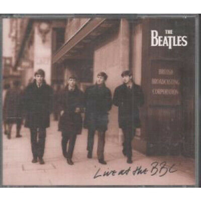 BEATLES Live At The Bbc DOUBLE CD UK Apple 1994 69 Track 2 Disc Set In Thick