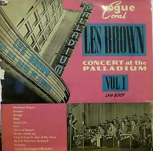 LES BROWN AND HIS BAND OF RENOWN Concert At The Hollywood Palladium VG/EX-