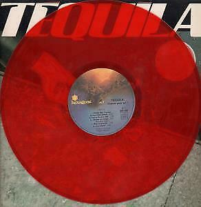 TEQUILA S/T LP VINYL France Hexagone 1980 10 Track Limited Edition Red Vinyl