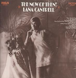 LANA CANTRELL Now Of Then LP VINYL USA Rca 1969 10 Track (Lsp4121) Very Small