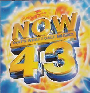 NOW THAT'S WHAT I CALL MUSIC 43 Various CD Europe Virgin 1999 41 Track 2 Disc