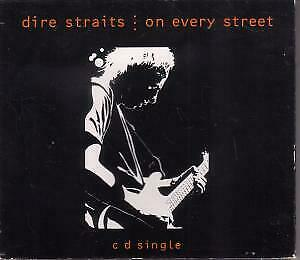 DIRE STRAITS On Every Street CD UK Vertigo 1992 4 Track In Foldout Booklet Digi