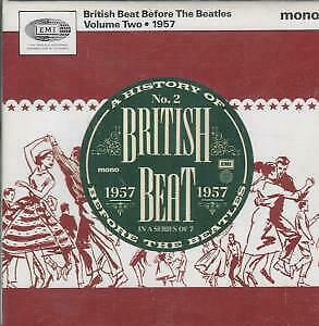 BRITISH BEAT BEFORE THE BEATLES VOLUME TWO Various CD UK Emi 1993 20 Track