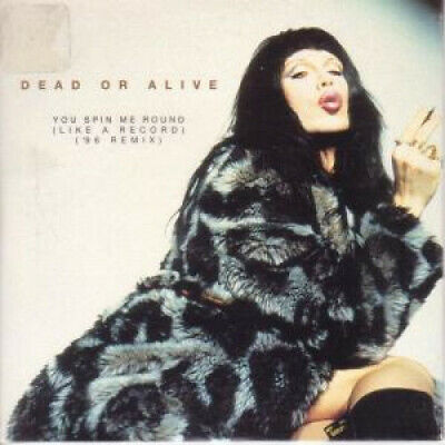 DEAD OR ALIVE You Spin Me Round CD Australia Dance Pool 1996 2 Track 96 Remix