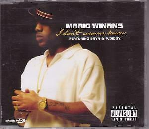 MARIO WINANS FEATURING ENYA AND P.DIDDY I Don't Wanna Know CD Europe Bad Boi