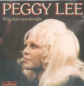 PEGGY LEE Why Don't You Do Right CD Germany Entertainers 25 Track (Cd0239)