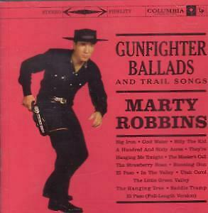 MARTY ROBBINS Gunfighter Ballads And Trail Songs CD USA Columbia 1999 15 Track