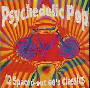 PSYCHEDELIC POP: 12 SPACED OUT 60S CLASSICS Various Artists CD USA Bmg 1996 12