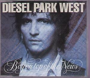 DIESEL PARK WEST Boy On Top Of The News CD UK Food 1992 4 Track B/W Hey