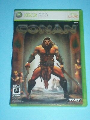 CONAN (Microsoft Xbox 360, 2007) CLEANED & TESTED - CANADIAN SELLER