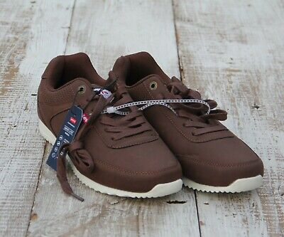 46d7d142 LEVI'S Performance NEW Comfort Lite Insole Men's Size 8.5 Brown Sneakers  Shoes