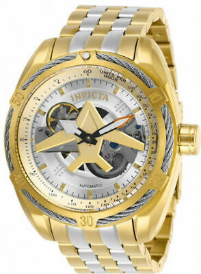 28210 Invicta Men's Aviator Automatic 100m Two Tone Stainless Steel Watch