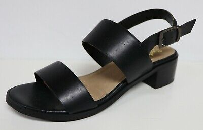 0f607ceb3c1 SEYCHELLES SANDALS BLACK Leather Thong Ankle Strap Flat Women's Size ...