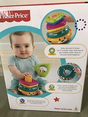 Fisher-Price Growing Baby Tiger Stacker (6m+) BRAND NEW