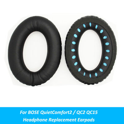 Replacement Cushion Earpads Ear Pad Parts for BOSE QuietComfort2 / QC2 QC15