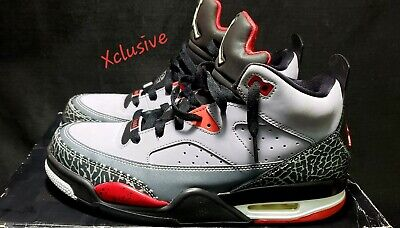 huge discount 85691 11759 Nike Air Jordan Son Of Mars Low Cement Gray Fire Red Mens Size 8  580603