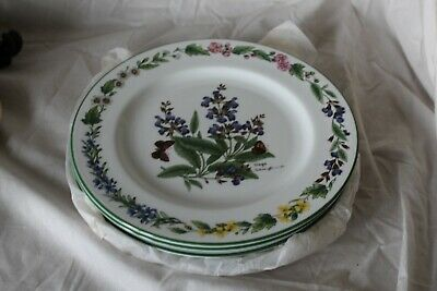 Royal Worcester Herbs Sage  Plate 8 inches diameter