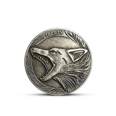FIVE CENTS Wolf Head Silver Commemorative coin Collection