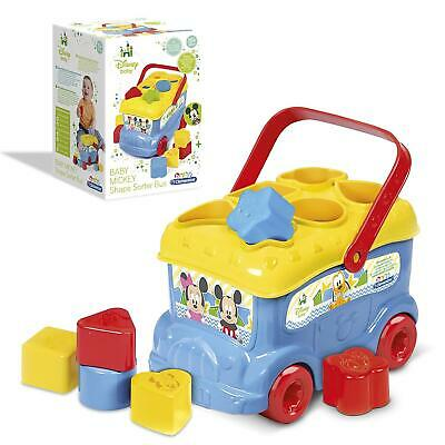 Clementoni Baby Disney Mickey & Friends Shape Sorter Bus