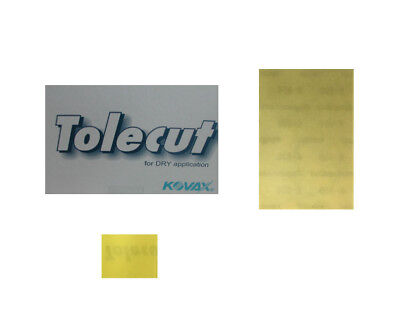 200x Kovax Tolecut Stick-On Streifen Lemon K800 29*35 mm