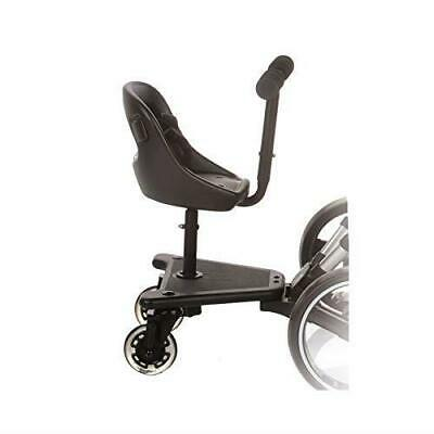 Be Cool 503 Skate SEAT ONLY For Pram Black Universal Buggy Board