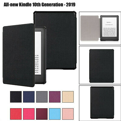 For Amazon All-NEW Kindle 10th Generation 6inch Leather Case Cover Sleep/Wake UK