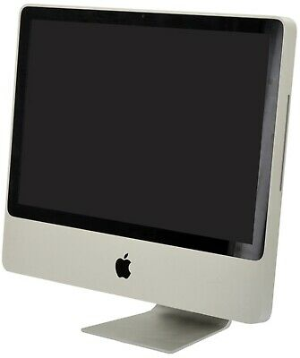 """Apple iMac A1224 20"""" All-In-One Intel Core 2 Duo (E8135) 2.4GHz 1GB RAM 250HDD"""