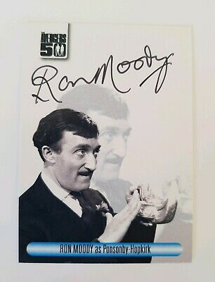 Unstoppable Cards The Avengers 50th Anniversary Ron Moody Autograph Card