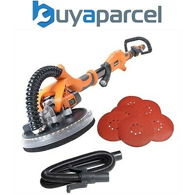 Evolution Power Tools Telescopic Dry Wall Sander with LED Torch 225 mm 230 V